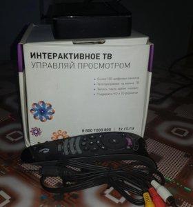 РОСТЕЛЕКОМ ПРИСТАВКА IP ТV