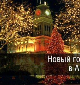 С 31 декабря по 3 января Новогодний тур в Абхазию