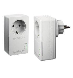 PLC адаптер Netgear AV200