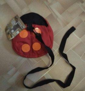 Рюкзак поводок для малыша