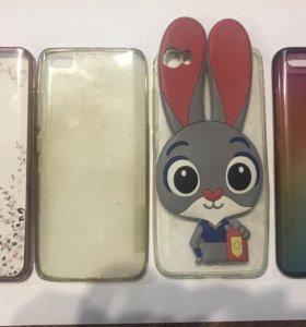 Чехлы на телефон Xiaomi mi 5 по 100₽