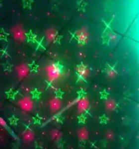 Лазерный проектор (светомузыка)