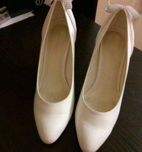 Туфли свадебные!