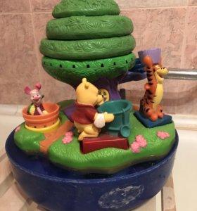 Комплекс для игр в ванной с Винни-Пухом