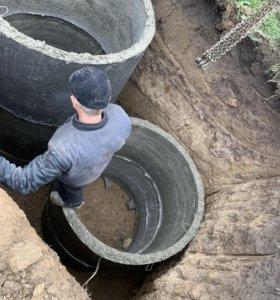 Септики , Отопление Водопровод канализация