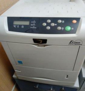 Принтер цветной лазерный бу