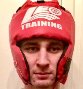 Шлем тренировочный для единоборств