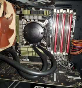 Asus sabertooth socket 1366 6 ядер 12 потоков 4ггц