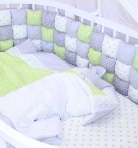 Конверт-одеяло,бортики,гнездышко-кокон.