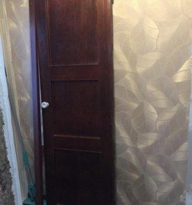 Дверь деревянная 640 х 2040