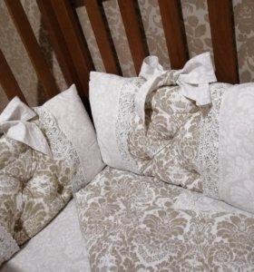 Бортики комплект постельного