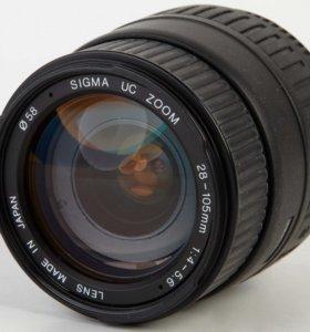 Объектив Sigma UC Zoom 4-5,6/28-105 D (Nikon AF)