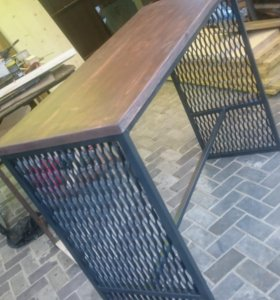 Столы и Стулья в стиле Лофт - Сделаем и привезем