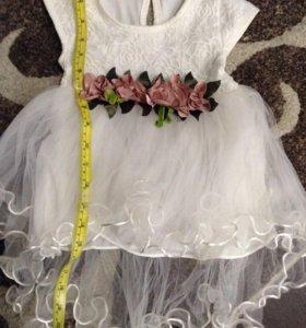 Платье (50см) на годик