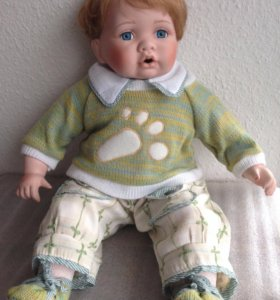 Фарфоровая кукла njsf (Нью-Джерси,США)