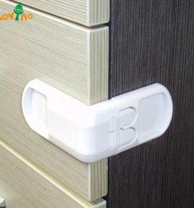 Защитный механизм от открывания шкафчиков 10 шт