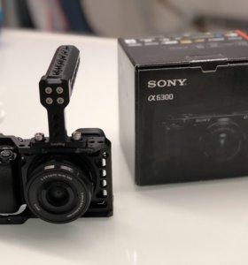 Sony a6300 + smallrig