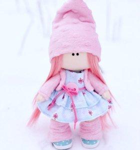 Текстильная кукла, подарок, интерьер