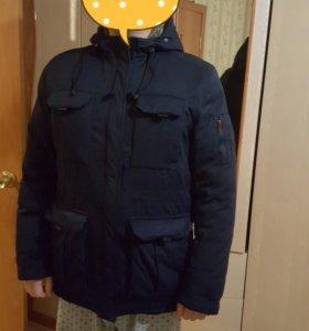 Куртка мужская зимняя мало б/у