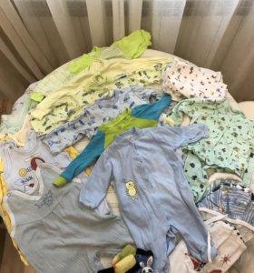 Очень большой набор одежды для новорожденного