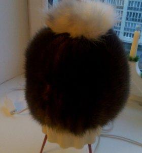 Новая шапка из натуральной норки
