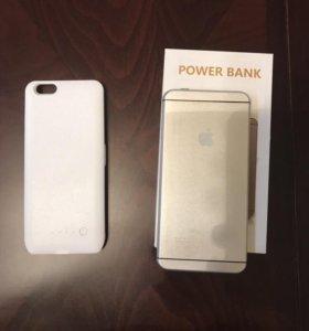 Power Bank и чехол -аккумулятор для IPhone 6