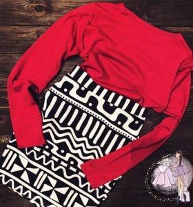 Кофточка и юбка