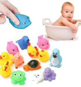 Новые резиновые животные для купания