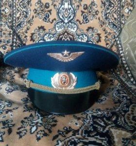 Фуражка офицерская парадная ВКС
