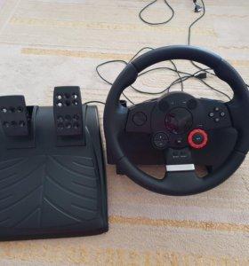 Продам игровой руль Logitech Driving Force GT
