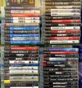 Диски PS3 90 шт. читайте список