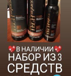 Шампунь, бальзам и сыворотка для волос