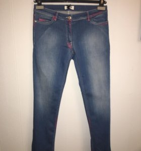 Джинсовые брюки Moschino teen (2 пары)