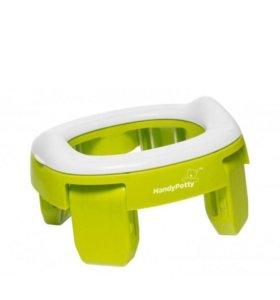 Горшок складной handy potty