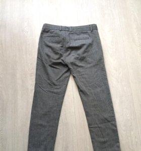 Клетчатые штаны.