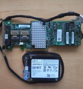 Raid controller LSI megaraid SAS 9265-8i 1GB + BBU