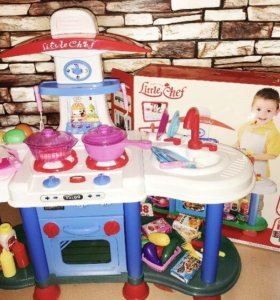 Кухня игровая детская