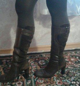 Сапоги и туфли натуральные
