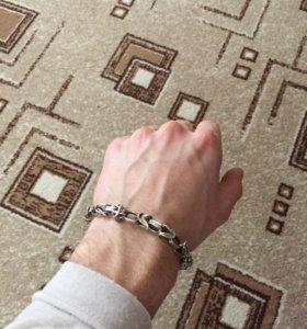 М браслет-цепь на руку