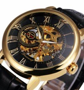 Часы Forsining скелетоны новые