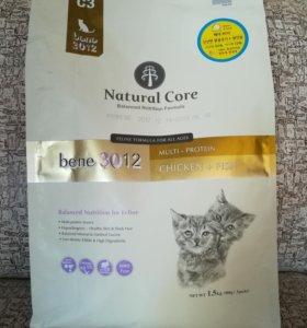 Корм для кошек 1,5 кг