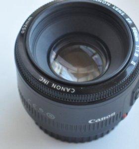 Canon EF 50 mm 1.8 f ll