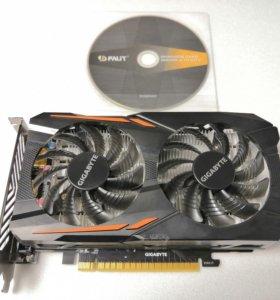 Видеокарта GIGABYTE GeForce GTX 1050 OC-2GD