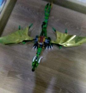 LEGO набор Дракон зелёного ниндзя