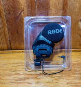 Стерео-видео-микрофон SVM PRO (RODE) .