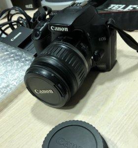 Canon 1000d, как новый, без торга
