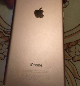 Телефон iPhone 7 32 гига розовое золото