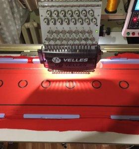 Вышивальная машина VELLES VE12C-VE15C