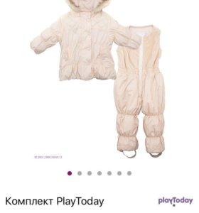 Комплект зимний, куртка и полукомбинезон