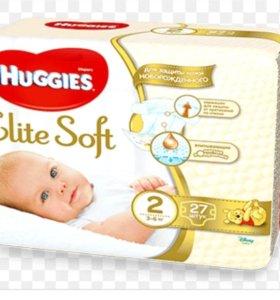 Подгузники Huggies 2